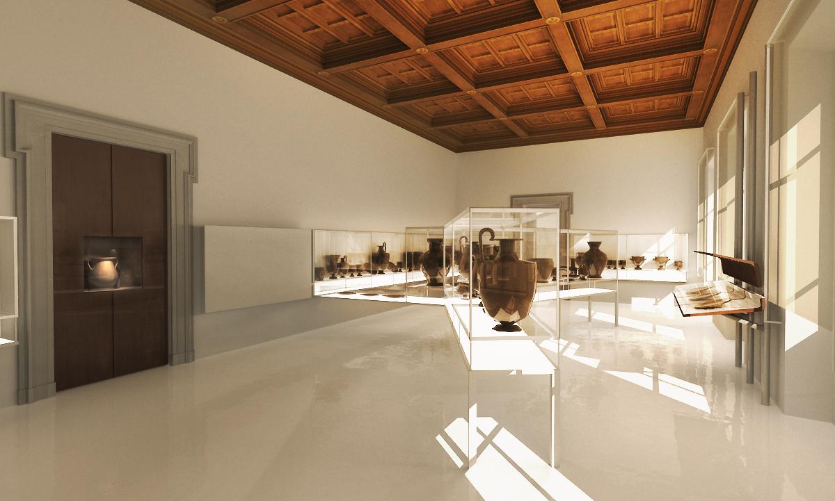 Museo Del Vaticano.Musei Vaticani Museo Gregoriano Etrusco Pier Federico Caliari