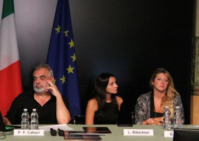 Pier Federico Caliari con Greta Allegretti e Paola Mattioli