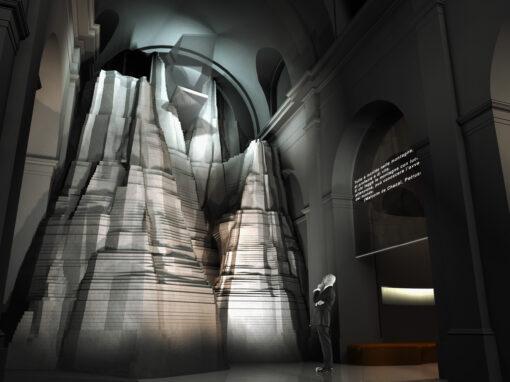 Progetto di allestimento museografico per il Forte di Bard I 2003 I Concorso: 2° classificato