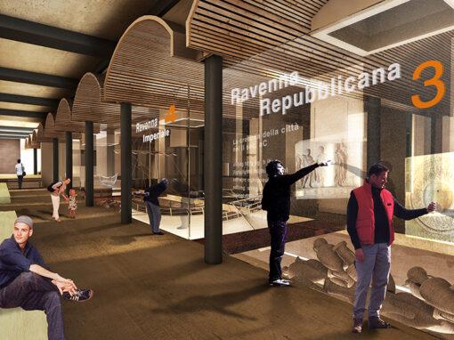 Progetto di allestimento per il Museo Archeologico di Classe (Ravenna) I 2009 I Concorso: 2° classificato