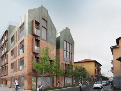 Edificio per comunità universitaria a Milano