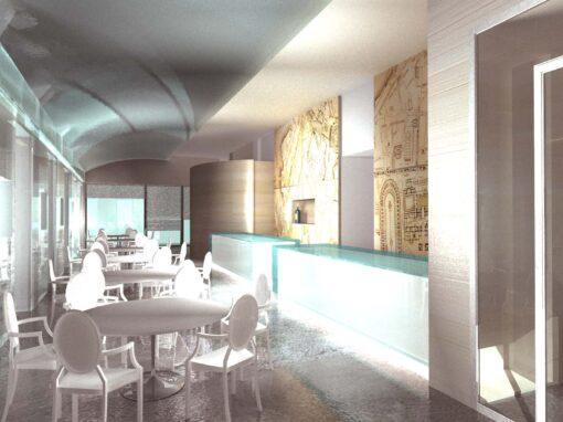 Ristrutturazione ristorante circolo Montecitorio